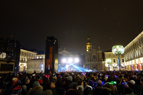 New Year's Eve in Torino