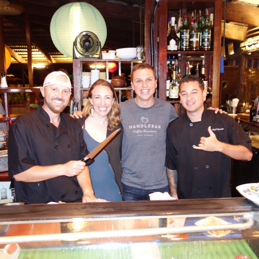 Behind the Sushi Bar at Dolphin