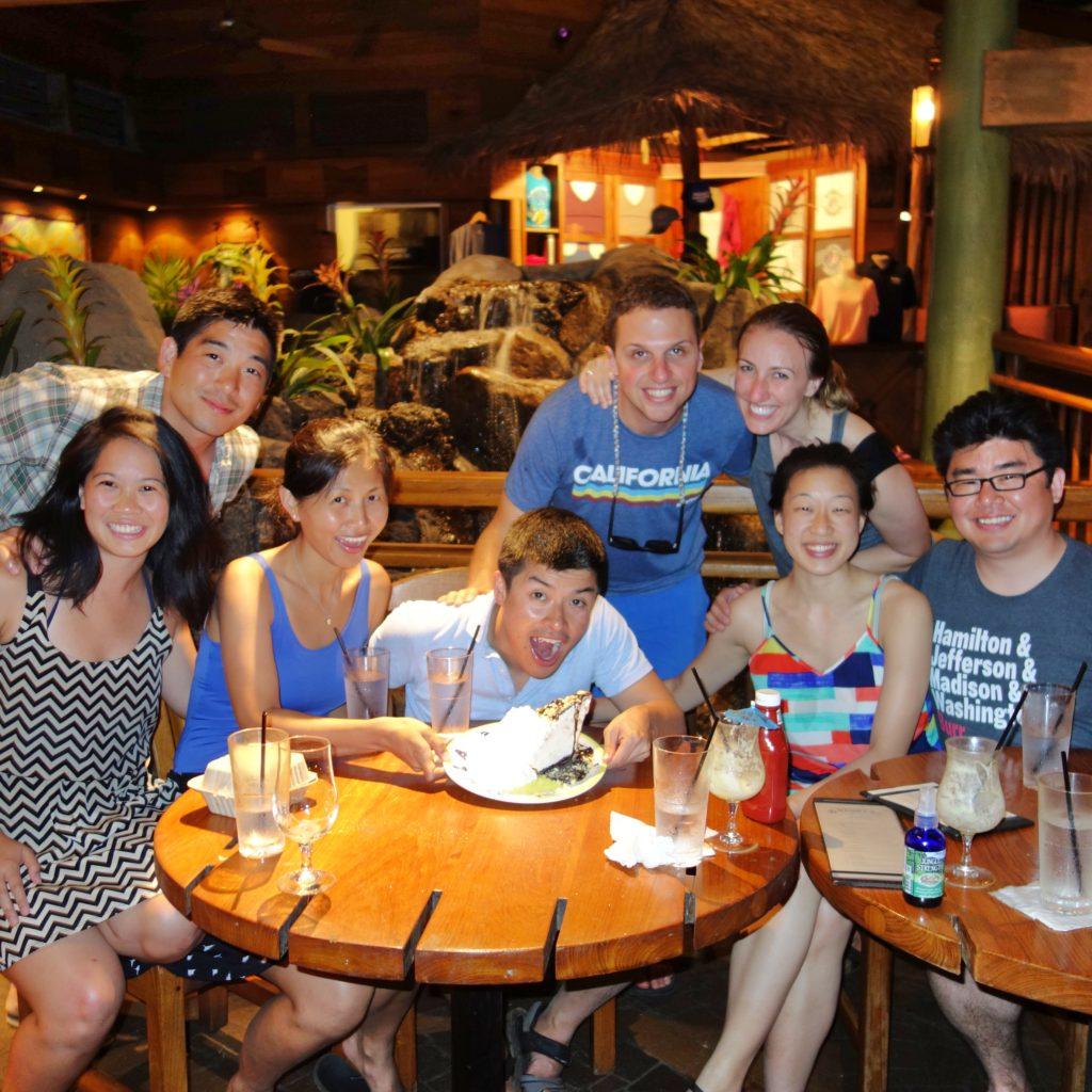 Stanford friends in Hawaii