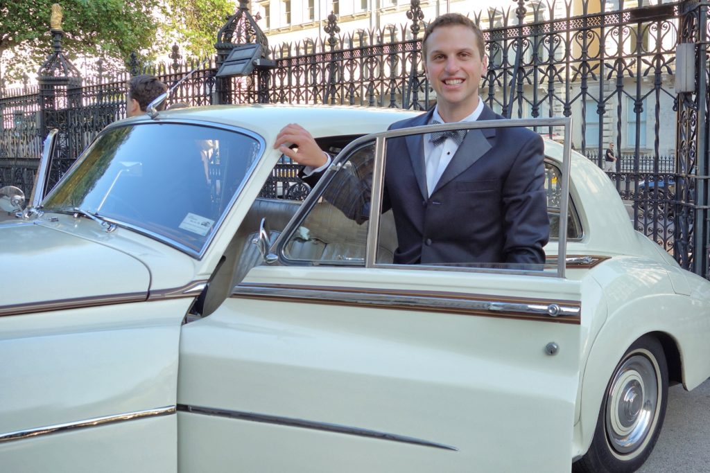 Me at the wedding in a RR