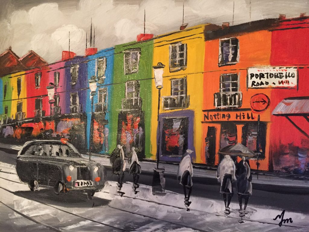 Notting Hill painting