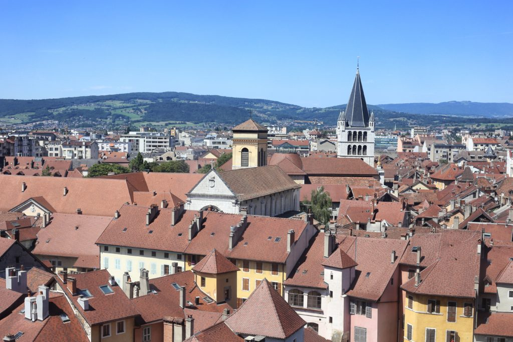 Annecy roof tops