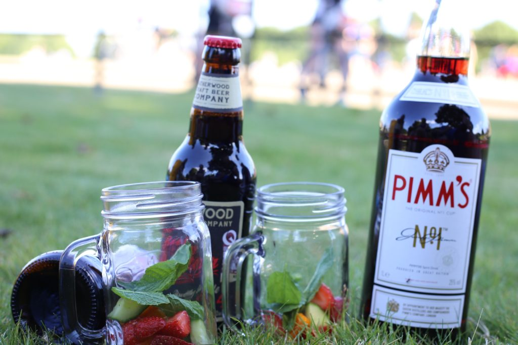 Pimms in London